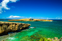Natural Sea Arch - Laie Point, Oahu, Hawaii